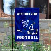 Westfield State Owls Football Garden Flag
