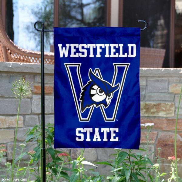 Westfield State University Owls Logo Garden Banner