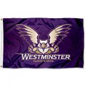 Westminster Griffins Logo Flag