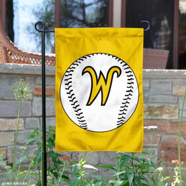 Wichita State Baseball Garden Flag