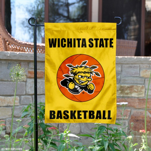 Wichita State Basketball Garden Flag