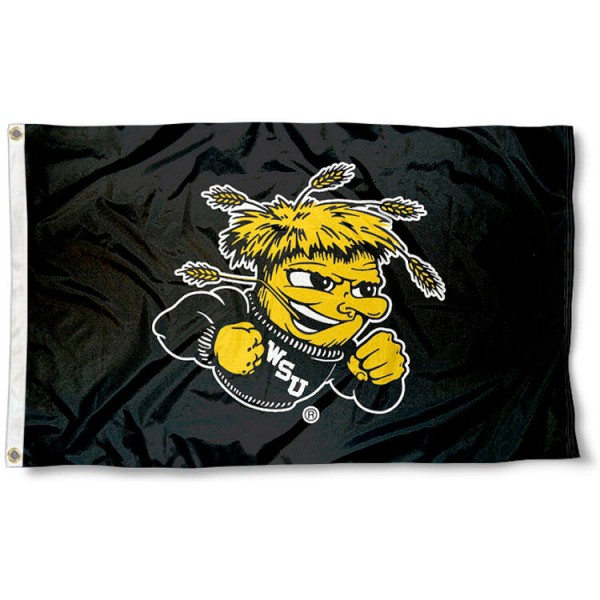Wichita State Black Flag