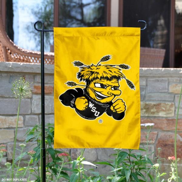 Wichita State Garden Flag