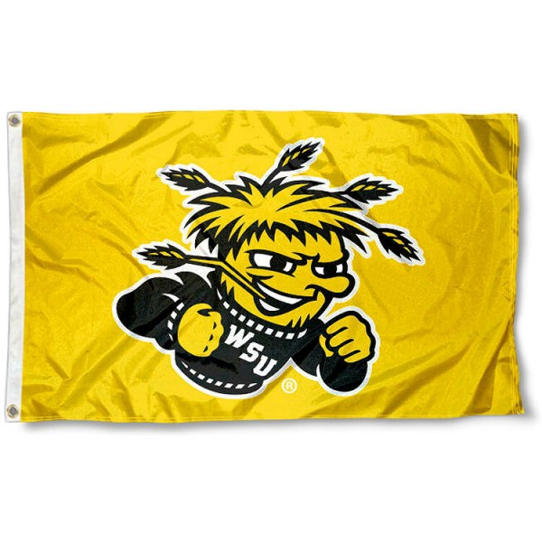 Wichita State Shockers Gold Flag