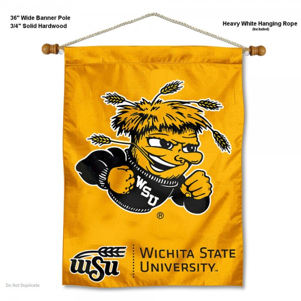 Wichita State Shockers Wall Hanging