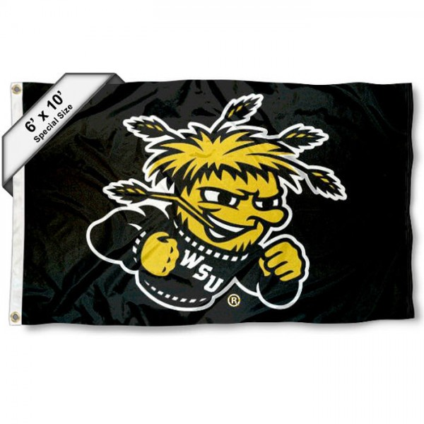 Wichita State WSU Shockers 6x10 Foot Flag