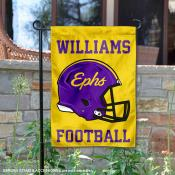 Williams Ephs Football Garden Flag