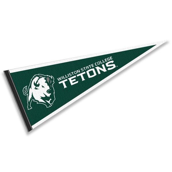Williston State College Tetons Pennant