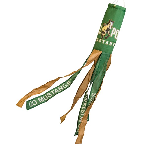 Wind Sock for Cal Poly Mustangs