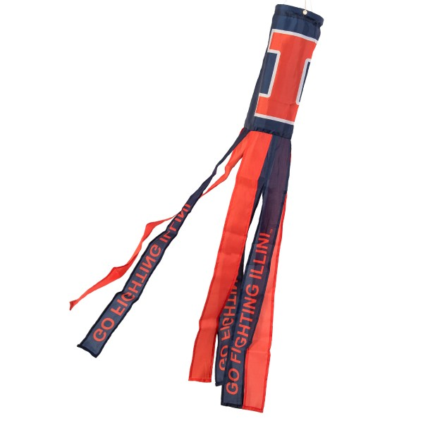 Wind Sock for Illinois Fighting Illini