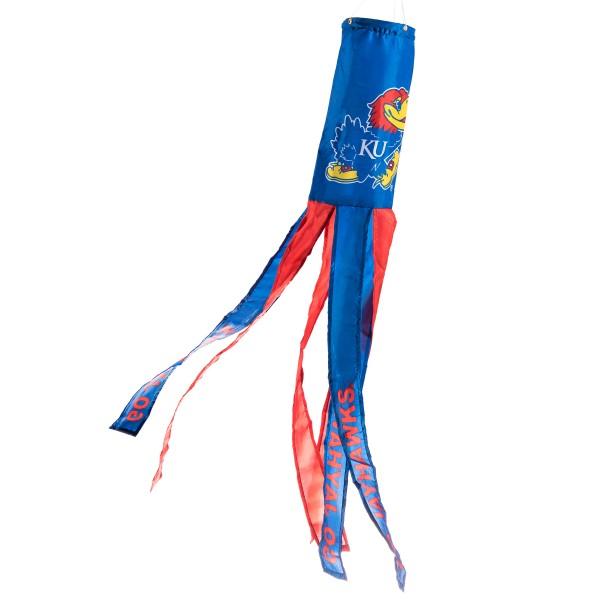 Wind Sock for Kansas KU Jayhawks