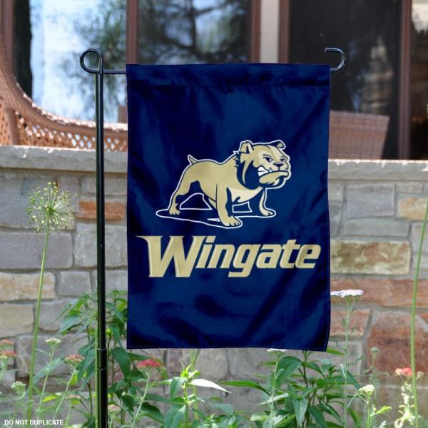 Wingate Bulldogs Garden Banner