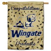 Wingate Bulldogs Graduation Banner