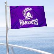 Winona State Warriors Boat Nautical Flag