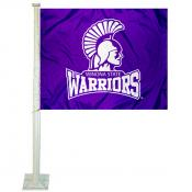 Winona State Warriors Car Flag