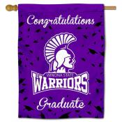 Winona State Warriors Graduation Banner