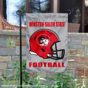 Winston Salem State Rams Football Garden Flag