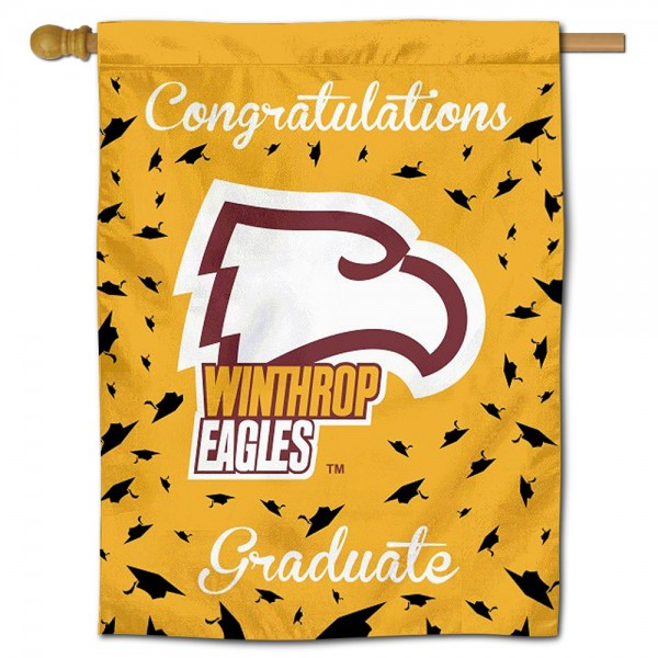 Winthrop Eagles Graduation Banner