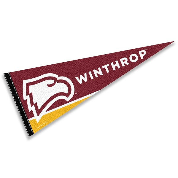 Winthrop WU Eagles Pennant
