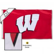 Wisconsin Badgers 2x3 Flag