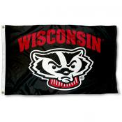 Wisconsin Badgers Blackout Flag