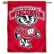 Wisconsin Badgers House Flag