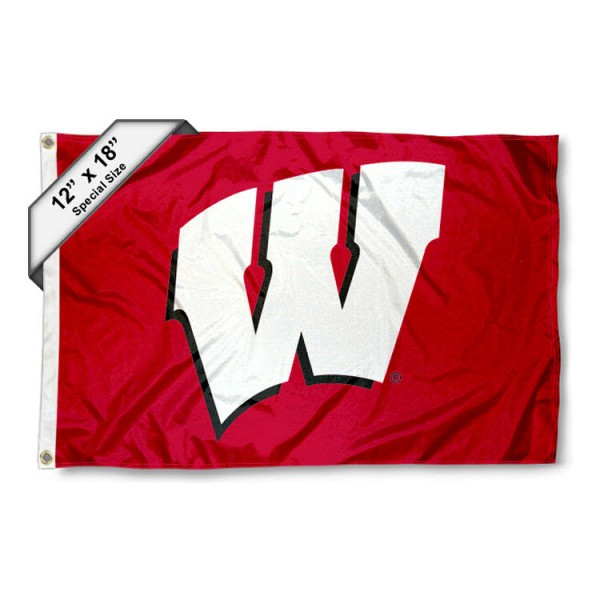 Wisconsin Badgers Mini Flag