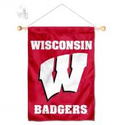 Wisconsin Badgers Small Wall and Window Banner