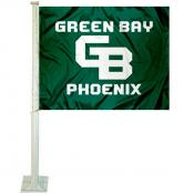 Wisconsin Green Bay Phoenix Car Flag