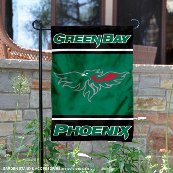 Wisconsin Green Bay Phoenix Garden Flag