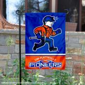 Wisconsin Platteville Pioneers Garden Flag