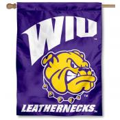 WIU Leathernecks House Flag