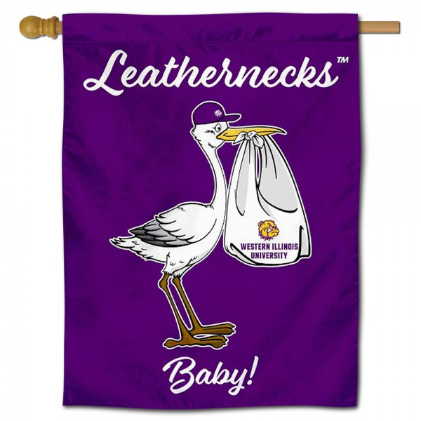 WIU Leathernecks New Baby Banner