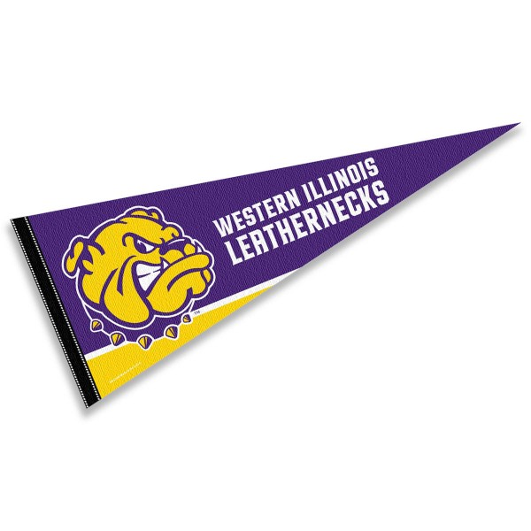 WIU Leathernecks Pennant