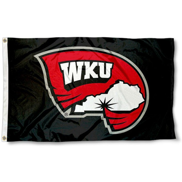 WKU Hilltoppers Black Flag