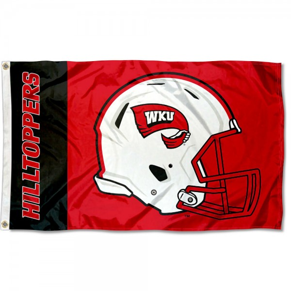 WKU Hilltoppers Helmet Flag
