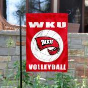 WKU Hilltoppers Volleyball Garden Flag