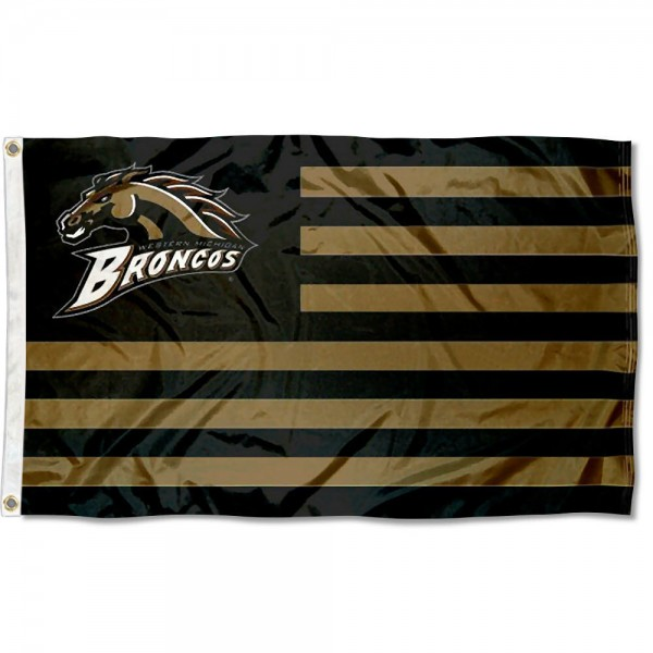 WMU Bronco Nation Flag