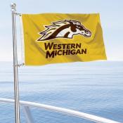 WMU Broncos Boat Nautical Flag