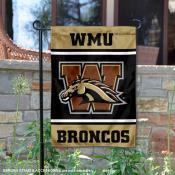 WMU Broncos Garden Flag