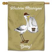 WMU Broncos New Baby Banner
