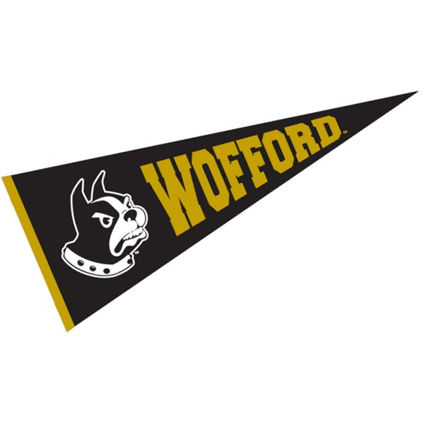 Wofford Terriers Pennant