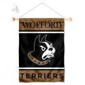 Wofford Terriers Window Hanging Banner with Suction Cup