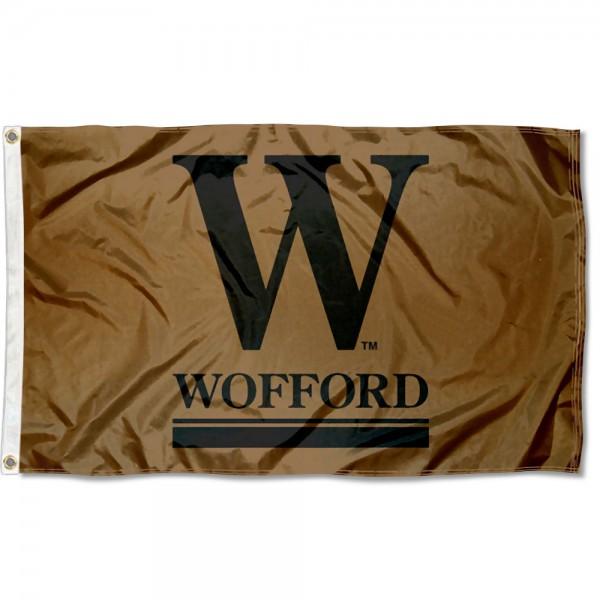 Wofford Terriers Wordmark Logo 3x5 Foot Flag