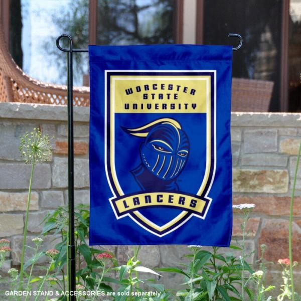 Worcester State Lancers Shield Garden Banner