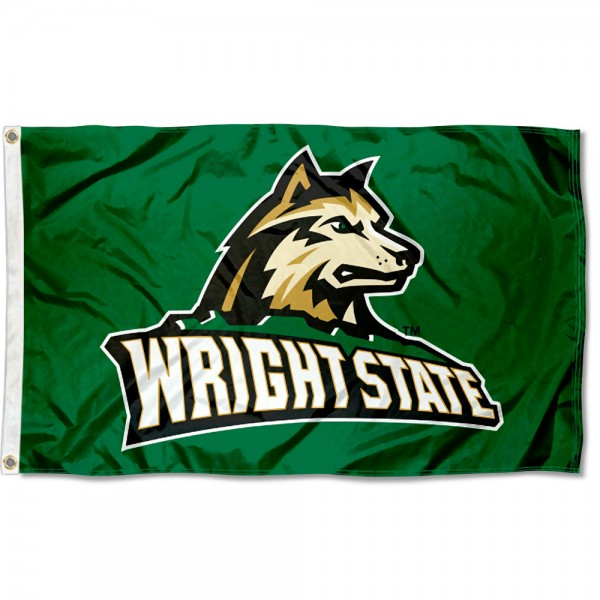 Wright State Raiders Logo 3x5 Foot Flag