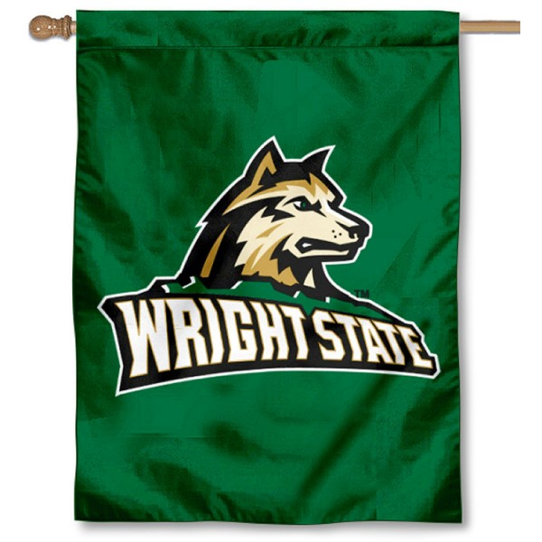 Wright State University Logo House Flag