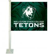 WSC Tetons Logo Car Flag