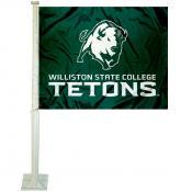 WSC Tetons Logo Car Flag