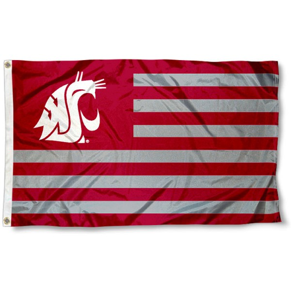 WSU Cougar Nation Flag